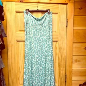 Lularoe maxi skirt, excellent pre owned. Worn once